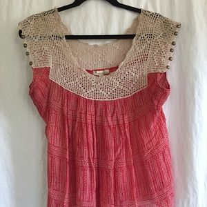 Silk Baby Doll Top
